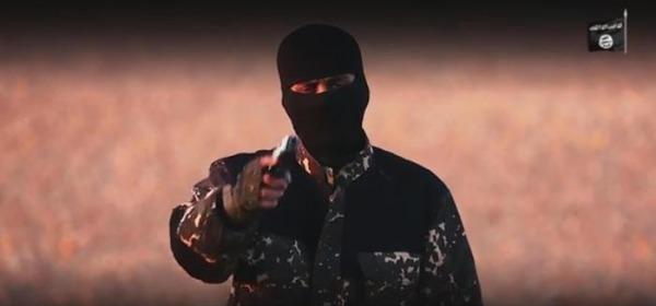 miliziano dell'ISIS sfida la Gran Bretagna