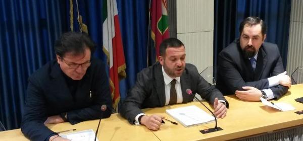 Forza Italia conferenza stampa