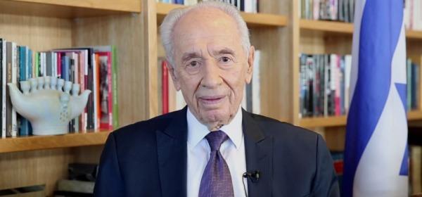 L'ex presidente israeliano Shimon Peres