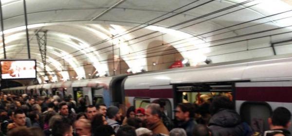 Roma, circolazione ferroviaria in tilt