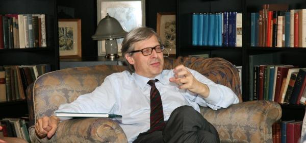 Vittorio Sgarbi - foto da ufficio stampa