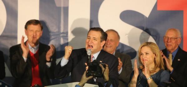 Il senatore del Texas, Ted Cruz