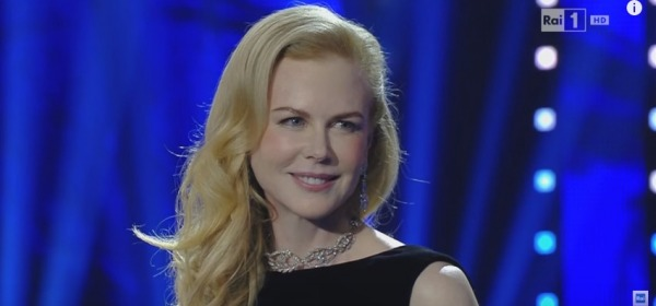 Nicole Kidman a Sanremo 2016