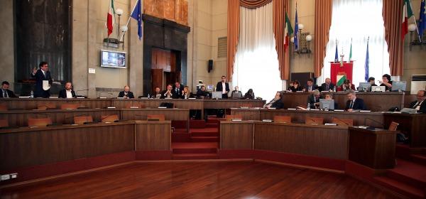Consiglio regionale Abruzzo-sala consigliare Pescara