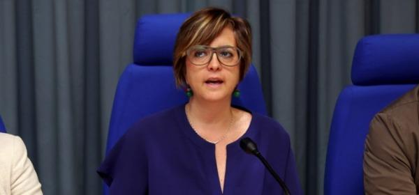 L'Assessore all'Istruzione, Marinella Sclocco