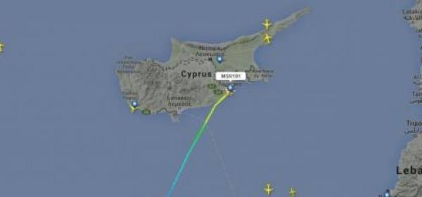 Aereo Egyptair Dirottato A Cipro
