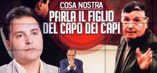 Bruno Vespa intervista il figlio di Riina