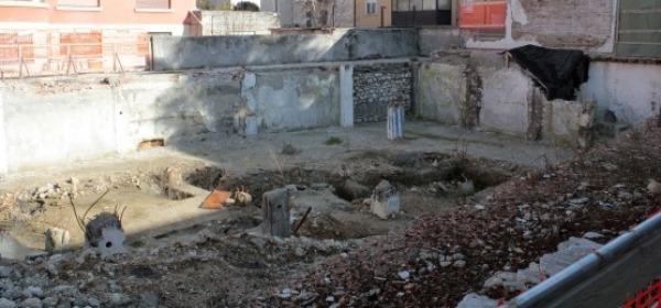 L'Aquila, Crollo in Via D'Annunzio