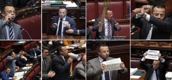 Gianluca Buonanno, europarlamentare della Lega Nord