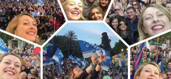 Giorgia Meloni - foto da facebook