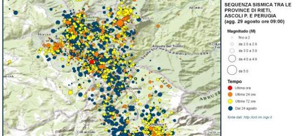 mappa INGV
