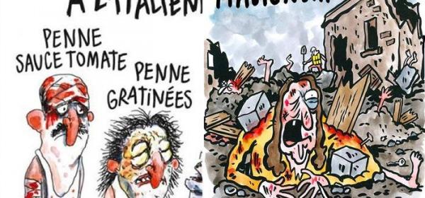 Charlie Hebdo, vignetta su terremoto Amatrice