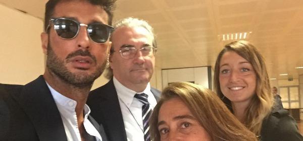 Corona nel Tribunale di Milano - foto da instagram