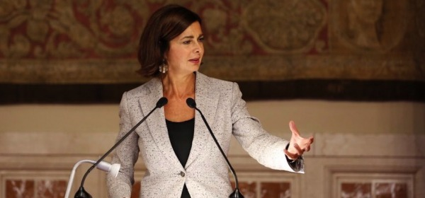 Laura Boldrini - foto da twitter