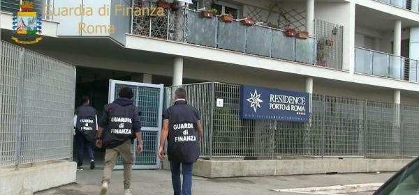 Sequestro beni - immagini gdf Roma