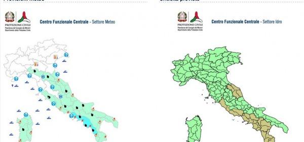 LE MAPPE della Protezione Civile