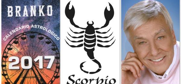 SCORPIONE - Oroscopo 2017 Branko