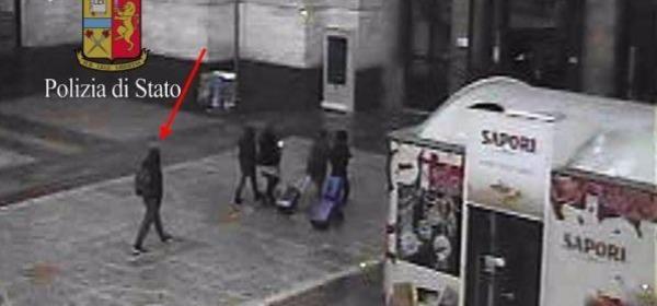 Fotogramma terrorista alla Stazione Centrale di Milano