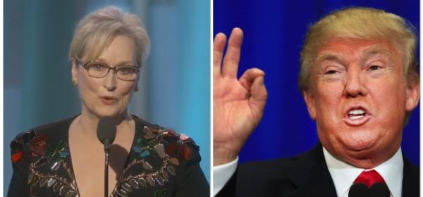Meryl Streep contro Donald Trump