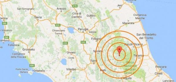 sisma2016 Regione Abruzzo