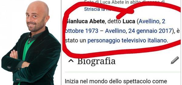 Luca Abete - foto da twitter