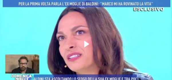 Stefania Lillo a 'Domenica Live'
