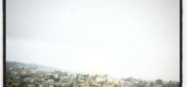 Porto di Genova dagli oblo della MSC Fantasia