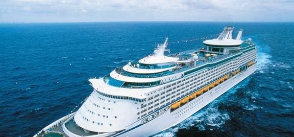 La nave Voyager of the seas della Royal Caribbean