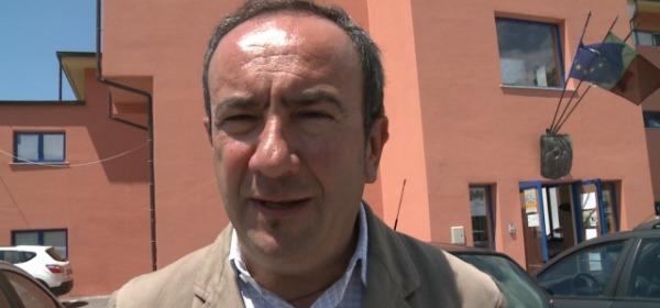 Il presidente Benedetti (foto Aquilatv)