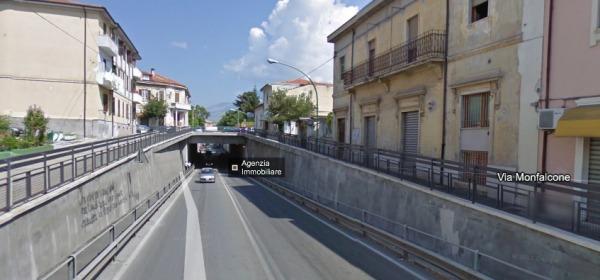 Via Albense, il sottopasso