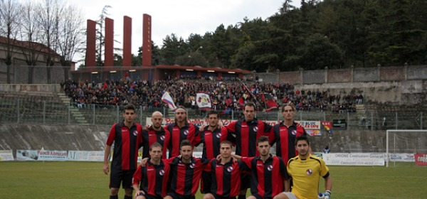 La formazione dell'Aquila Calcio