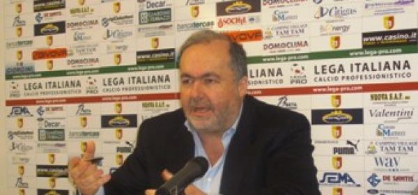 Il presidente Dario D'Agostino