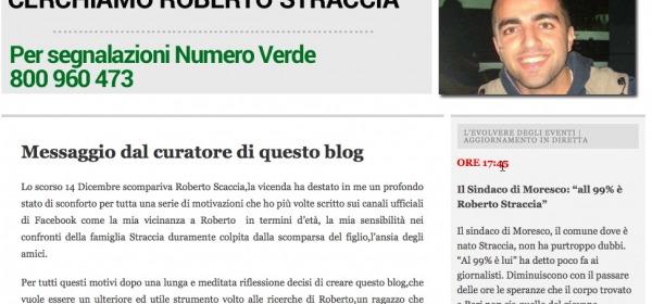 http://cerchiamoroberto.wordpress.com/