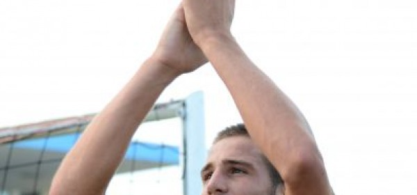 Leonardo Pavoletti, autore del gol-vittoria