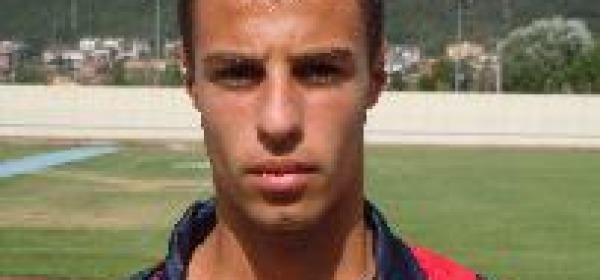 L'aquilano Fabio Marcotullio ('93), uno dei migliori in campo