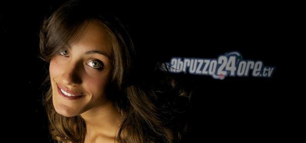 Ludovica Perissinotto negli studi di Abruzzo24ore.tv