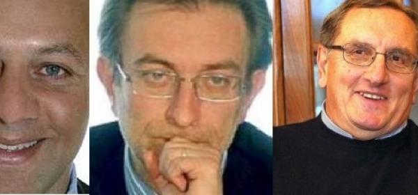 Calderoni, Cialente e Festuccia