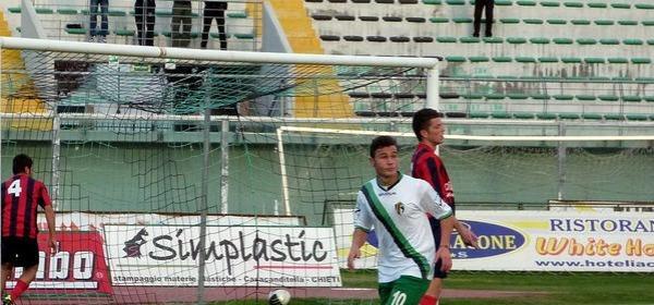 Riccardo Berardino, suo il gol del primo vantaggio neroverde