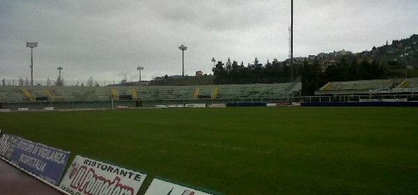 """Lo stadio """"Angelini"""" finalmente ripulito dalla neve"""