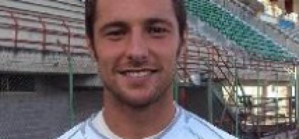 Il centrocampista del Celano, Francescdo Marfia