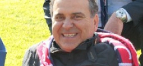 Il presidente rossoblù Elio Gizzi