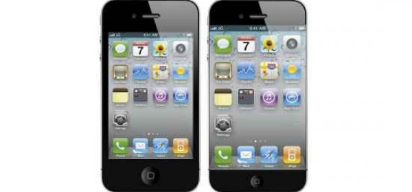 iPhone a confronto con un mockup