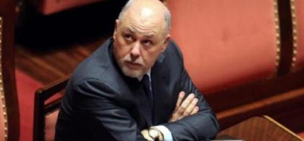 Luigi Lusi in Senato