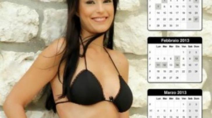 Nuda Calendario.Sara Tommasi Il Nuovo Calendario Nuda E Solo Una Montatura
