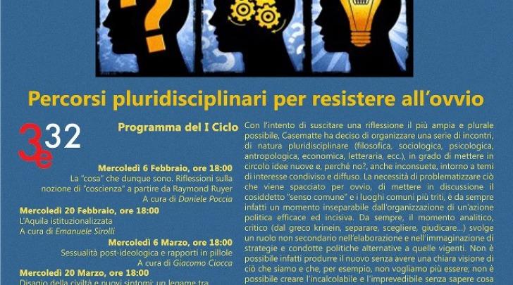 Pensieri critici a casematte filosofia per resistere all for Ovvio arredamento roma