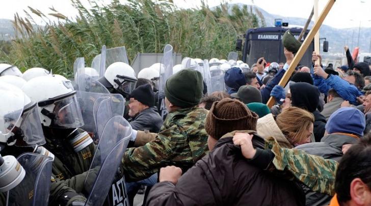 Protesta in Attica