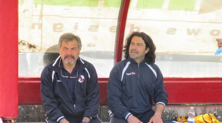 Pagliari, in panchina col vice Migliorelli