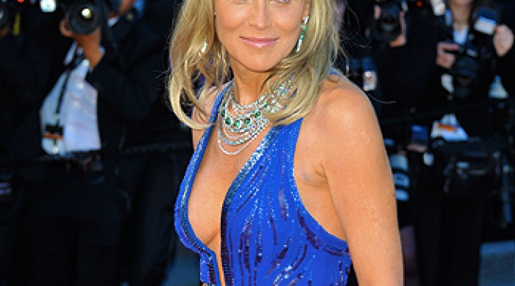 Sharon Stone al Festival di Cannes
