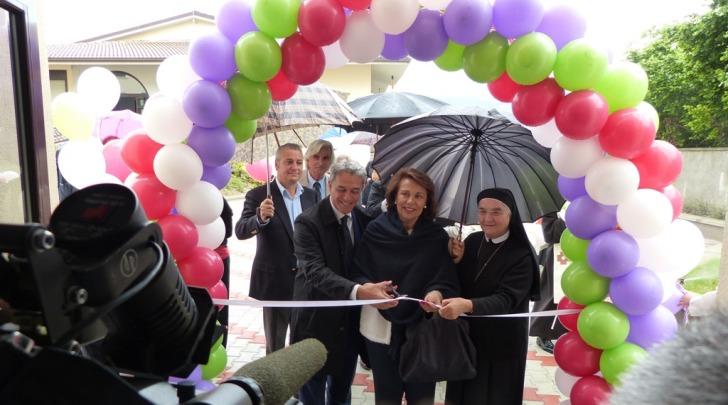 Inaugurazione a San Gregorio con Sandra Lonardo