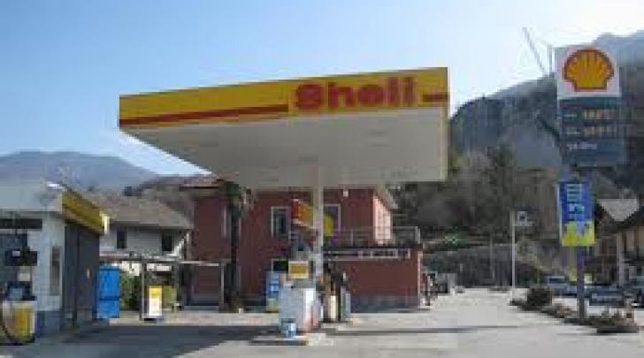 Distributore Shell - foto di repertorio
